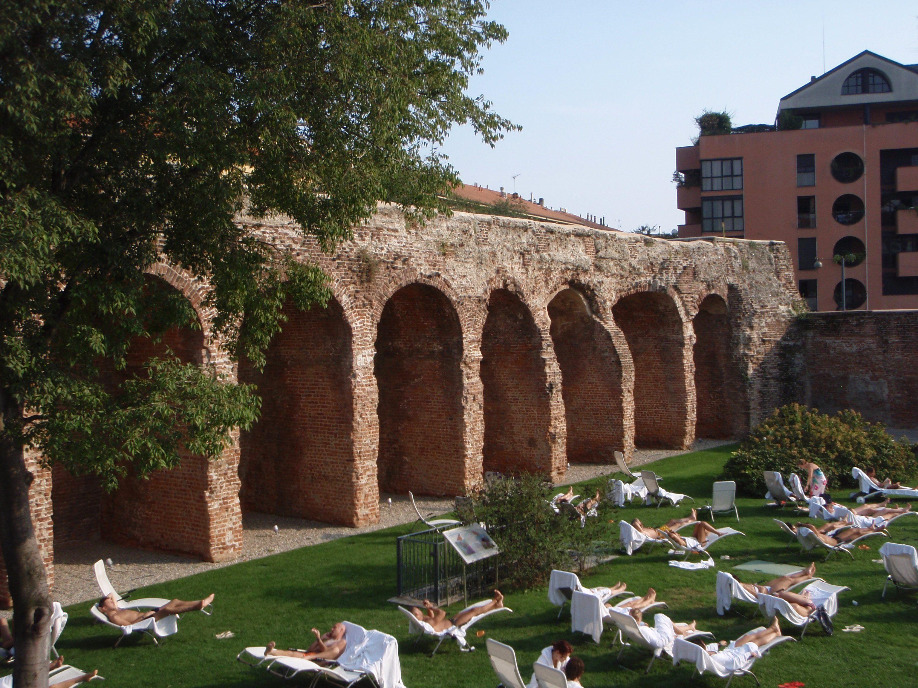 Continua il viaggio nella milano da conoscere - Terme porta romana ...